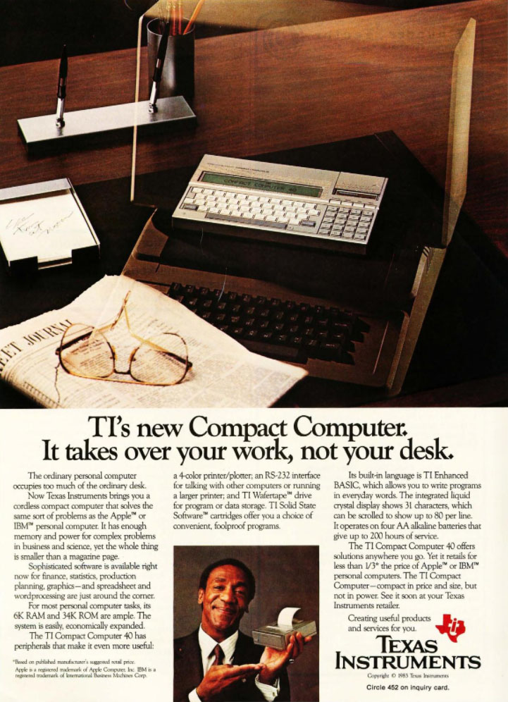 Texas Instruments Compact Computer 40
