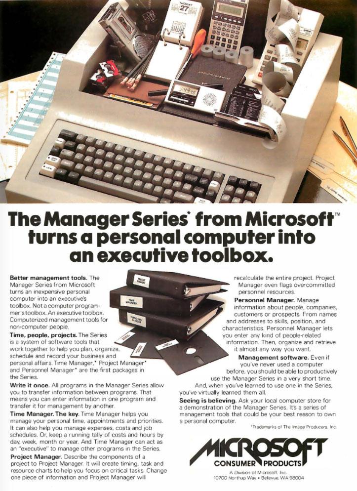 Microsoft, 1982