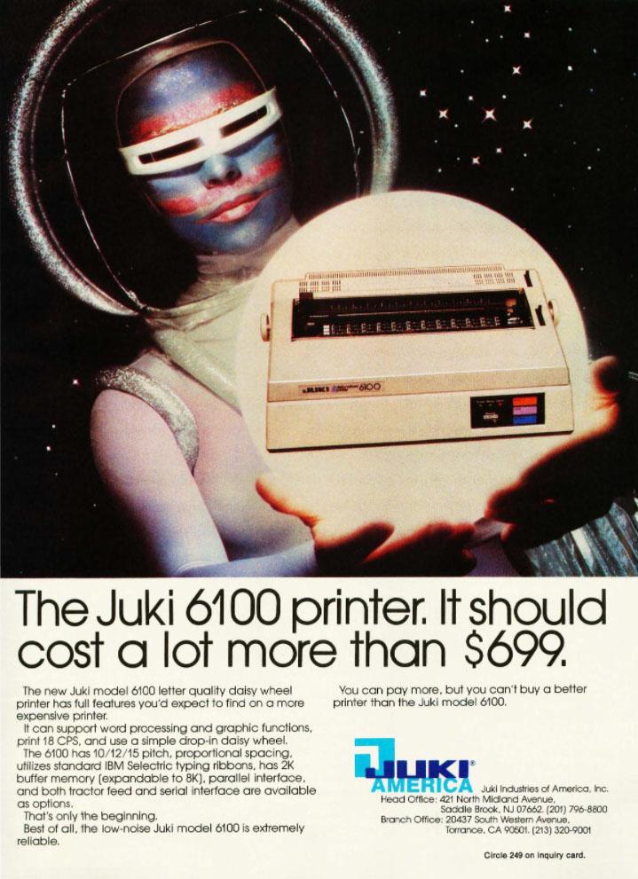 juki printer