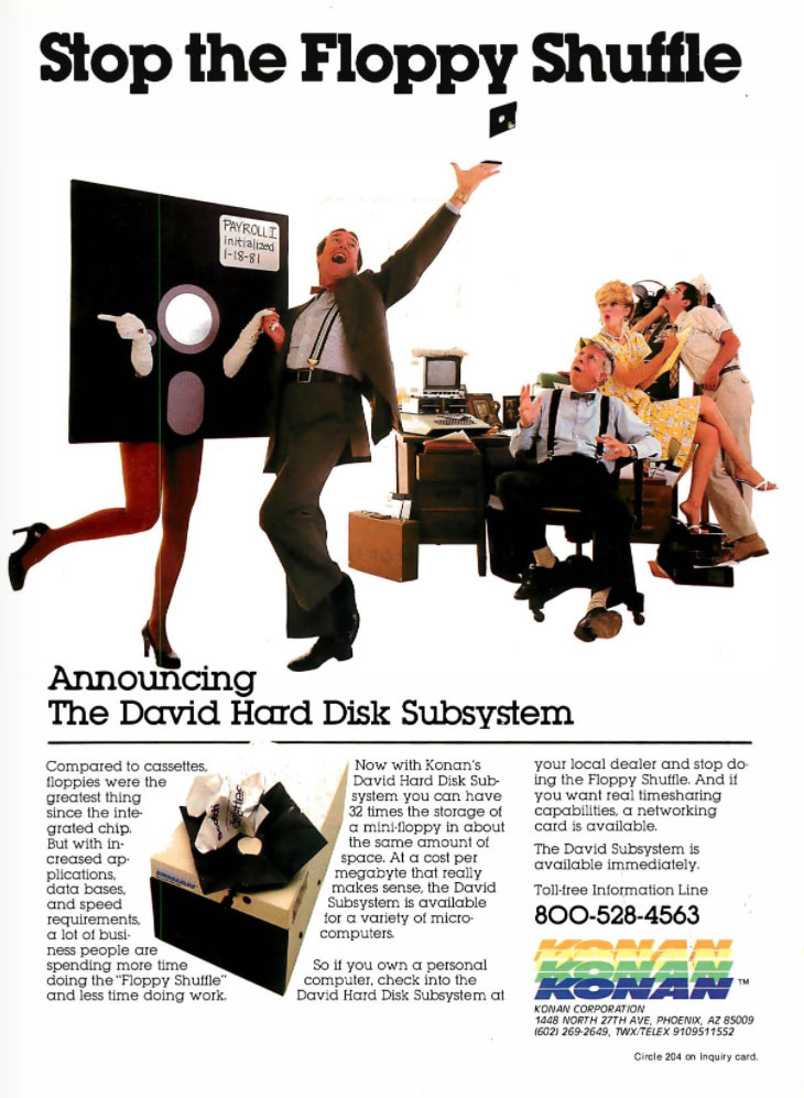 David Hard Disk Subsystem