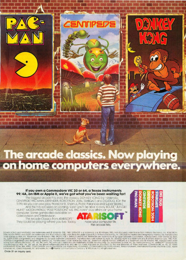 Atarisoft, 1984
