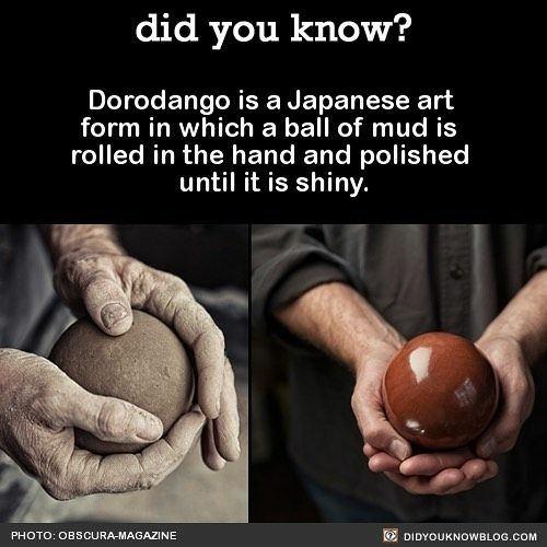 dorodango japan fact