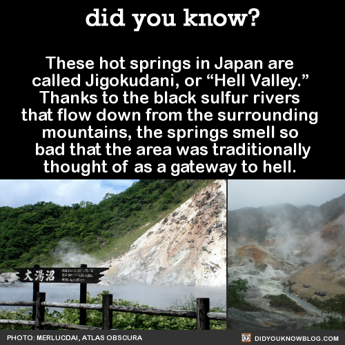 hell valley japan
