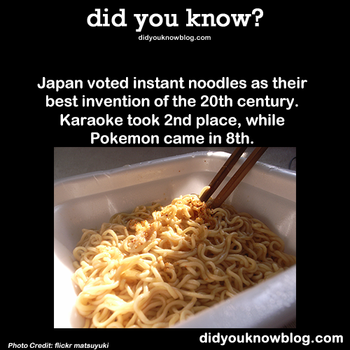 japan noodle invention